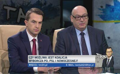Adam Szłapka i Piotr Zgorzelski w Tak Jest