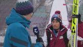 Kamil Stoch po kwalifikacjach w Innsbrucku