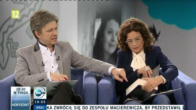 """Elżbieta Cherezińska w """"Xięgarni"""""""