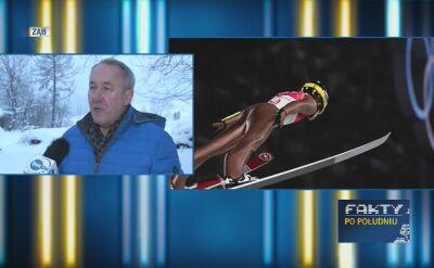 Ojciec Kamila Stocha o olimpijskim konkursie