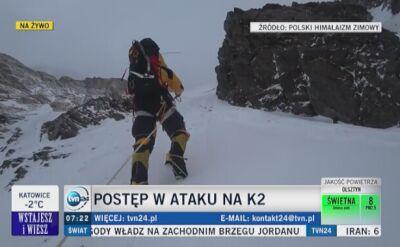 Wielicki o ekwipunku na K2