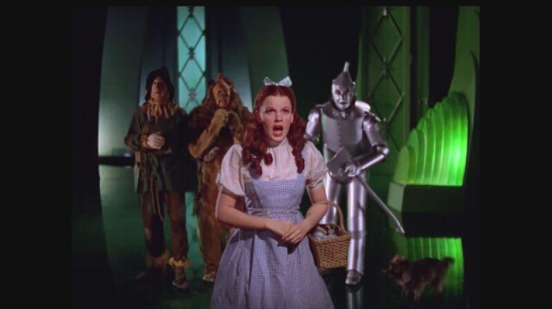 """""""Czarnoksiężnik z krainy Oz"""" unieśmiertelnił Judy Garland"""