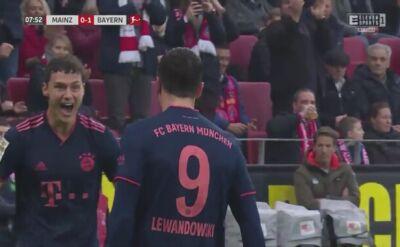Lewandowski strzelił gola Mainz