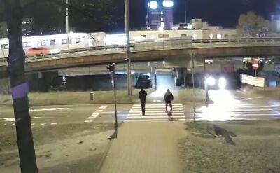 Potrącenie na pasach w Częstochowie
