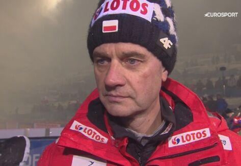 Stefan Horngacher podsumował TCS