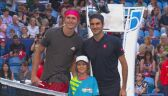 Skrót meczu Alexander Zverev - Roger Federer w Pucharze Hopmana