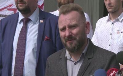 Piotr Liroy-Marzec będzie kandydował na prezydenta Kielc