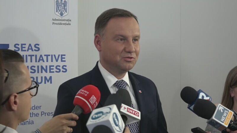 Andrzej Duda na szczycie Trójmorza w Bukareszcie