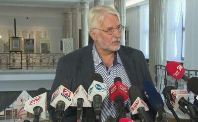 Waszczykowski: jesteśmy bardzo zadowoleni z rezultatów spotkania prezydentów Polski i USA