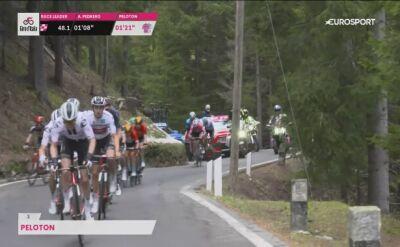 Kryzys Joao Almeidy na trasie 18. etapu Giro d'Italia