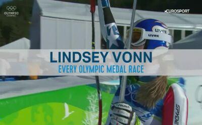 Lindsey Vonn i jej olimpijskie chwile. Tak amerykanka sięgała po medale