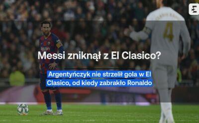 Niemoc. Czy Messi zniknął z El Clasico?