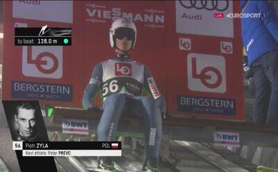 Skok Piotra Żyły w kwalifikacjach w Oslo