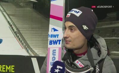Maciej Kot po kwalifikacjach w Oslo