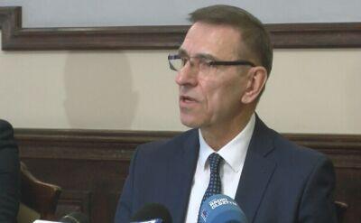 Oświadczenie prezydenta Olsztyna Piotra Grzymowicza cz. 2
