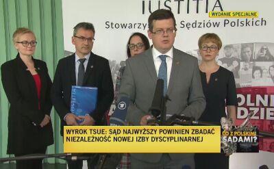 Krystian Markiewicz: TSUE podkreślił, że każdy ma prawo do rozstrzygnięcia swojej sprawy przez niezależny sąd