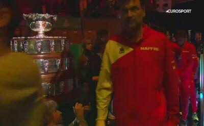 Ceremonia otwarcia finału Pucharu Davisa pełna gwiazd
