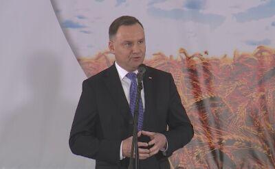Duda: mam nadzieję, że nikt nie odważy się wymiaru sprawiedliwości w Polsce dalej psuć