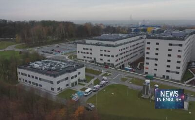 Poland. 200 patients move to a brand new hospital in Cracow