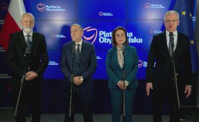 Jaśkowiak: możemy obronić Polskę przed prezydentem Dudą
