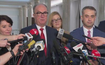 Czarzasty: klub Lewicy głosowałby przeciwko projektowi PiS ws. 30-krotności
