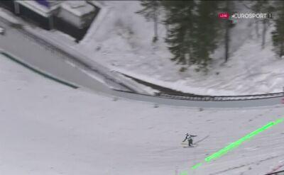 Bombowy skok Stocha w 1. serii konkursu w Lahti