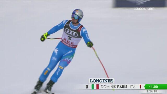 Paris najlepszy w supergigancie, Clarey i Kriechmayr na drugim miejscu