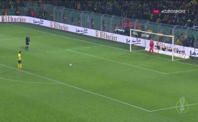 Seria rzutów karnych z meczu Borussia Dortmund - Werder Brema