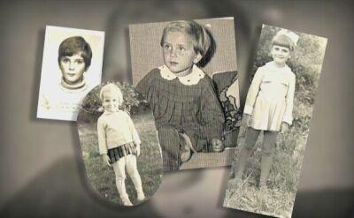 Beata Szydło jako mała dziewczynka
