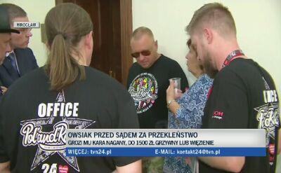 Jerzy Owsiak przed sądem