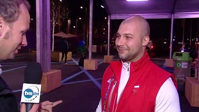 Po zdobyciu medalu Bartłomiej Bonk zadedykował go swoim córeczkom