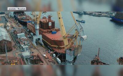 Akademik Łomonosow ma na pokładzie dwa reaktory atomowe