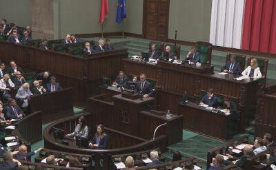 Burzliwa dyskusja podczas głosowania w sprawie specustawy o Westerplatte