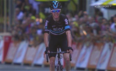 Christopher Froome - człowiek który zdominował Tour de France