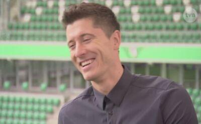 Wywiad z Robertem Lewandowskim - oglądaj wideo TVN24