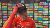Greg van Avermaet po zwycięstwie w Tour de Yorkshire