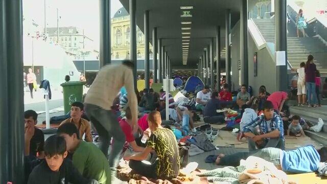 """Migranci """"pozbawieni żywności przez władze Węgier"""""""