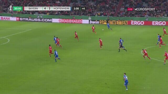 Hoffenheim się nie poddaje, trzeci gol dla gości z Bayernem