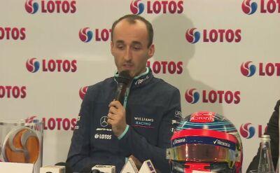 Kubica o oczekiwaniach zespołu Williamsa