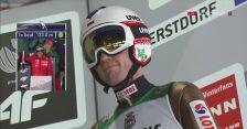 Skok z 2. serii w Oberstdorfie Kamila Stocha
