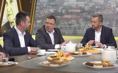 """Goście """"Kawy na ławę"""" w TVN24 podsumowywali w niedzielę działania rządu w 2018 roku"""
