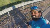 Hinduski kibic chce poznać Messiego. Jedzie rowerem na mundial