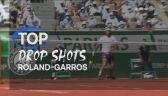 5 najlepszych dropshotów Roland Garros 2021
