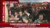 Erdogan pojawił się na lotnisku w Stambule