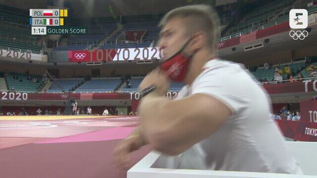 Tokio. Porażka Agaty Ozdoby-Błach w ćwierćfinale do 63 kg. Wściekły trener Polki