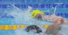 Tokio. Szalona radość trenera australijskiej pływaczki