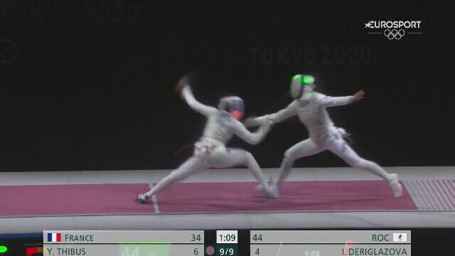 Tokio. Rosjanki zdobyły złoto w drużynowym florecie
