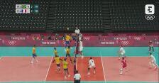 Tokio. Siatkówka: skrót meczu Brazylia - Francja