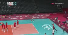 Tokio. Siatkówka: Polska prowadzi z Japonią 11:6 po najdłuższej akcji meczu