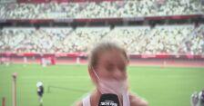 Klaudia Siciarz po awansie do półfinału biegu na 100 metrów przez płotki